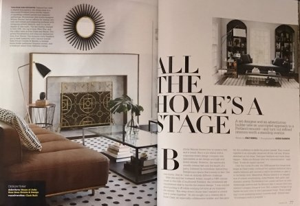 Five Star Painting Gray Magazine Living Room